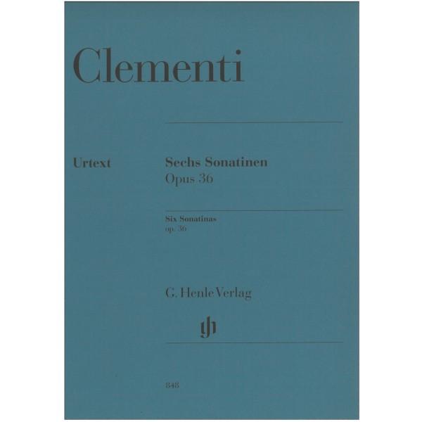 Clementi, Muzio - Six Sonatinas, Op. 36