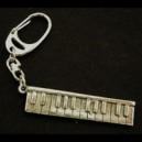 Pewter Keyring - Keyboard