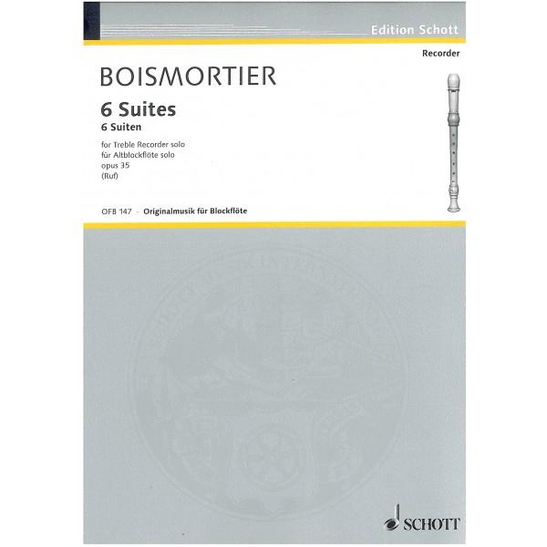 Boismortier, Joseph Bodin de - 6 Suites, Op. 35