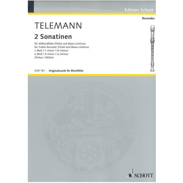 Telemann, Georg Philipp - 2 Sonatinas