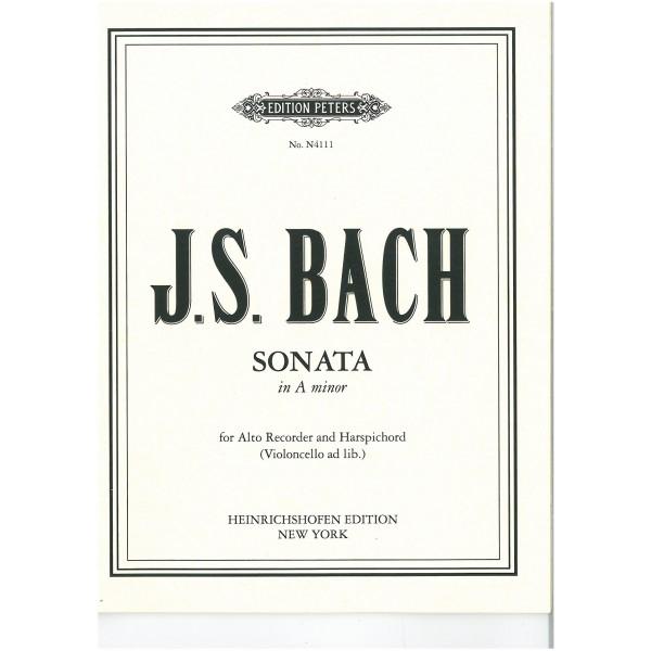 Bach, J. S. - Sonata in A minor