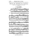 C. Hubert Parry: Hear My Words Ye People (Vocal Score)