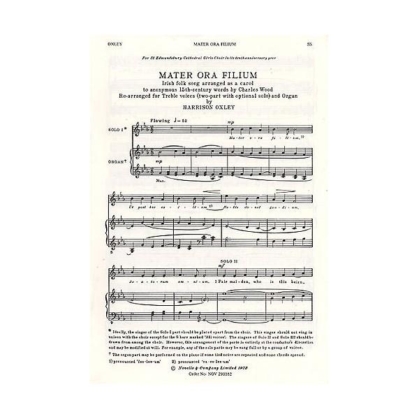 Harrison Oxley: Mater Ora Filium - Oxley, Harrison (Artist)