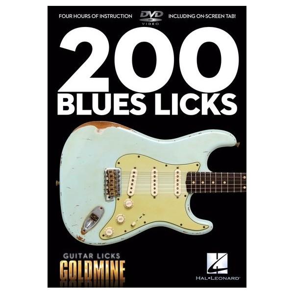 200 Blues Licks - Guitar Licks Goldmine