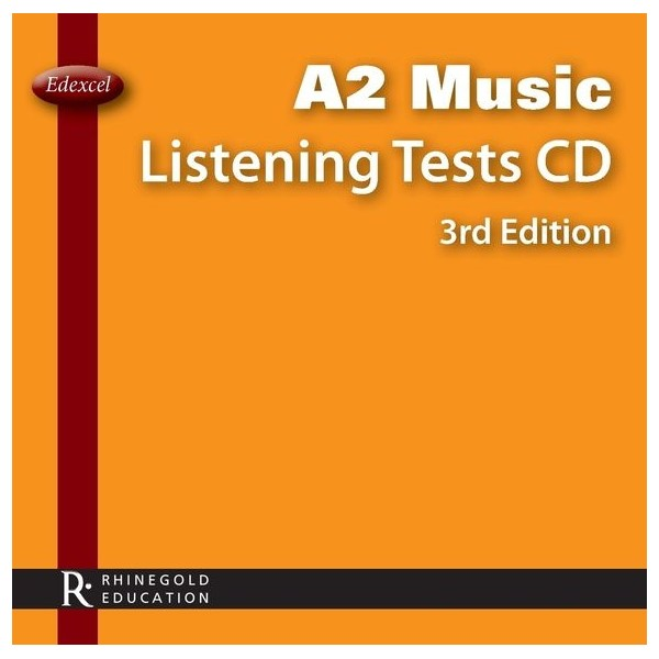 Edexcel A2 Music Listening Tests CD - 3rd Edition