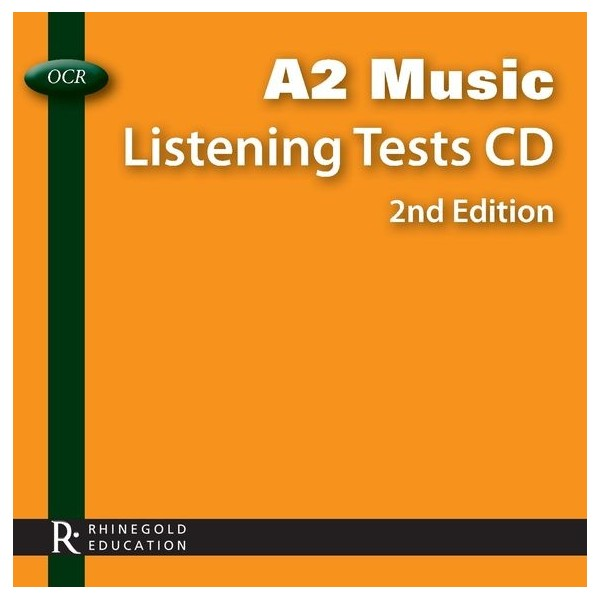 OCR A2 Music Listening Tests CD - 2nd edition