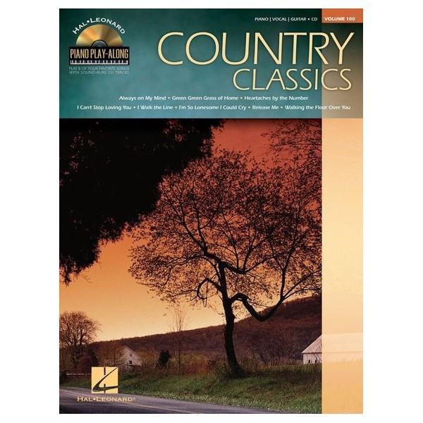 Piano Play-Along Volume 100: Country Classics