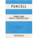 Purcell Society Volume 10 - Three Odes For St. Cecilias Day (Full Score) - Purcell, Henry (Artist)