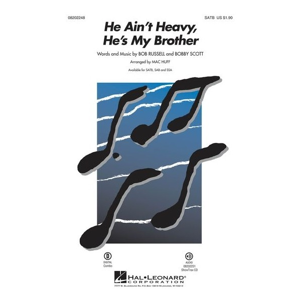 Bob Russell/Bobby Scott: He Aint Heavy, Hes My Brother - SATB