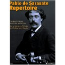 Sarasate, Pablo de - Repertoire