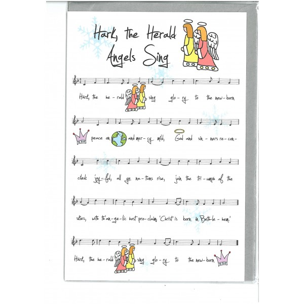 Hark, the Herald Angels Sing Christmas Card
