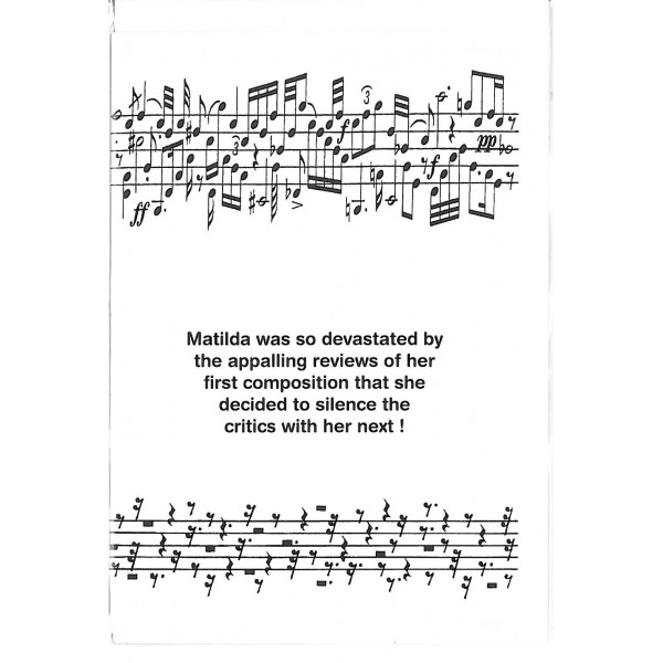 Matilda birthday card birthday card bookmarktalkfo
