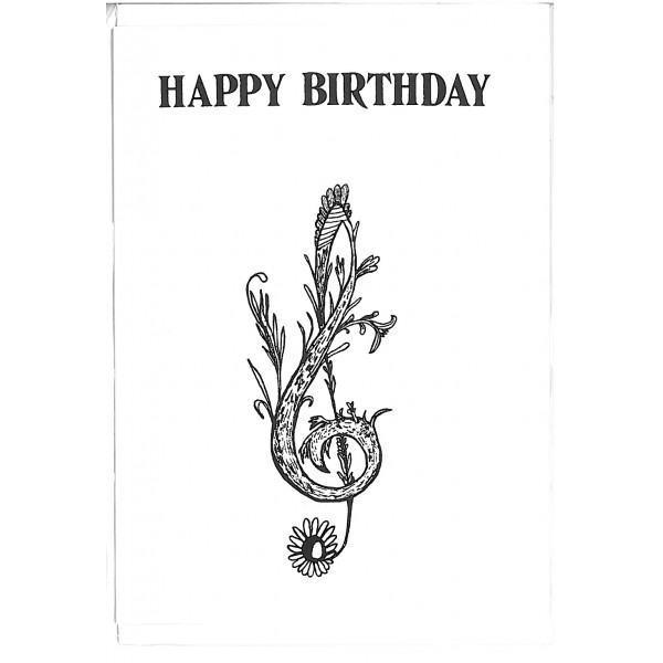Happy Birthday Birthday Card