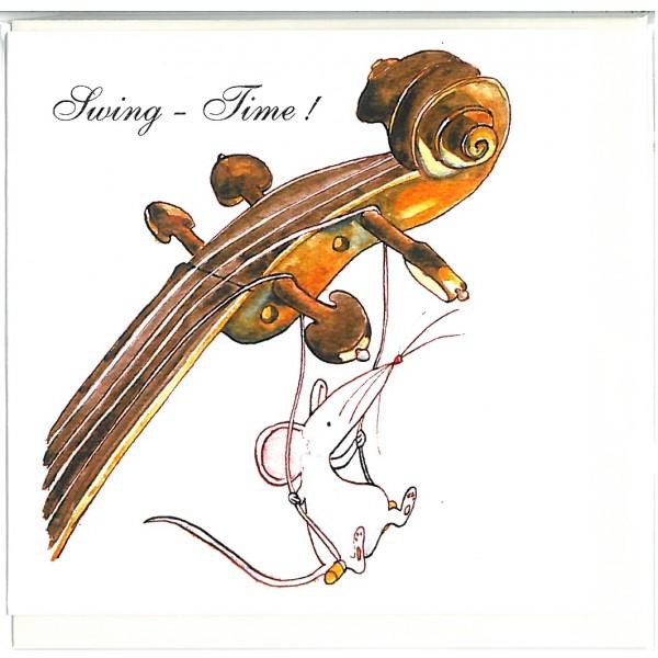 Swing Time! Greetings Card