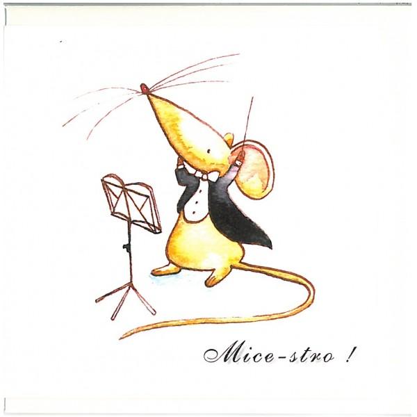 Mice-stro! Greetings Card