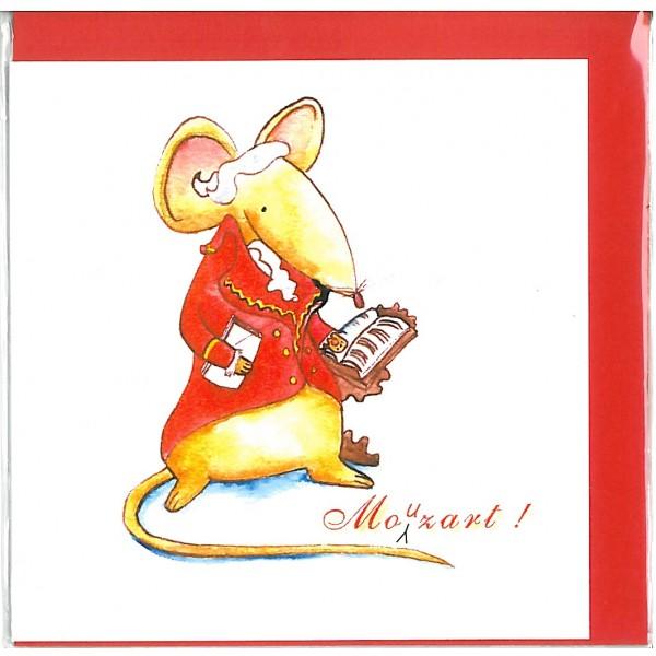 Mouzart! Greetings Card