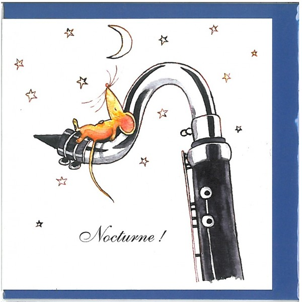 Nocturne! Greetings Card