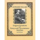 Edward Elgar: Enigma Variations And Pomp And Circumstance Marches (Full Score) - Elgar, Edward (Composer)