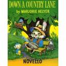Marjorie Helyer: Down A Country Lane - Heller, Marjorie (Artist)