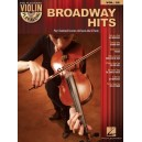 Violin Play-Along Volume 22: Broadway Hits