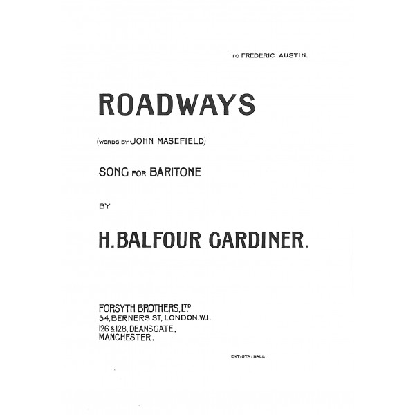 Balfour Gardiner - Roadways