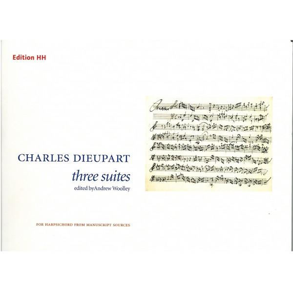 Dieupart, Charles - Three Suites