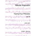 Kapustin, Nicolai - Twenty-Four Preludes Op53