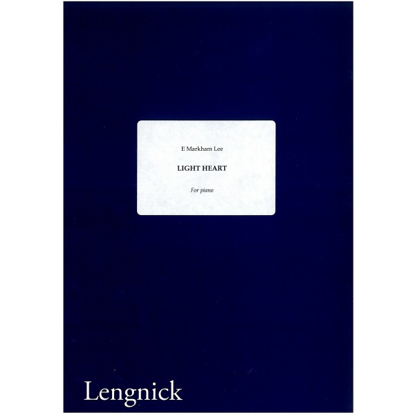 Lee, E Markham - Light Heart for Piano