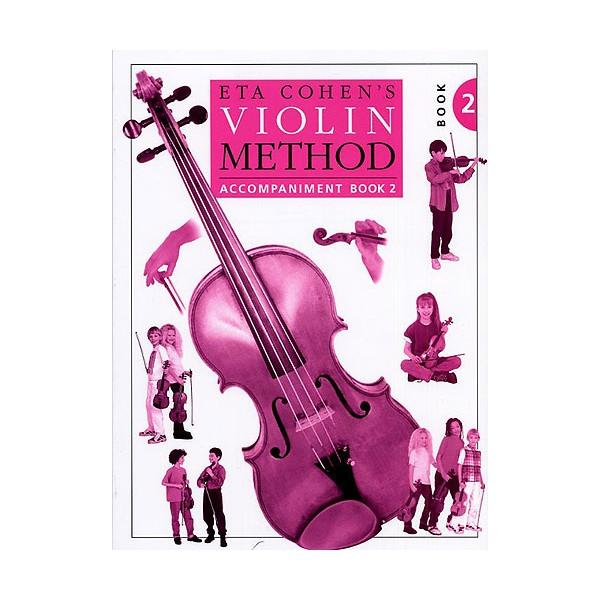 Eta Cohen Violin Method Book 2 Accompaniment Book - Cohen, Eta (Author)