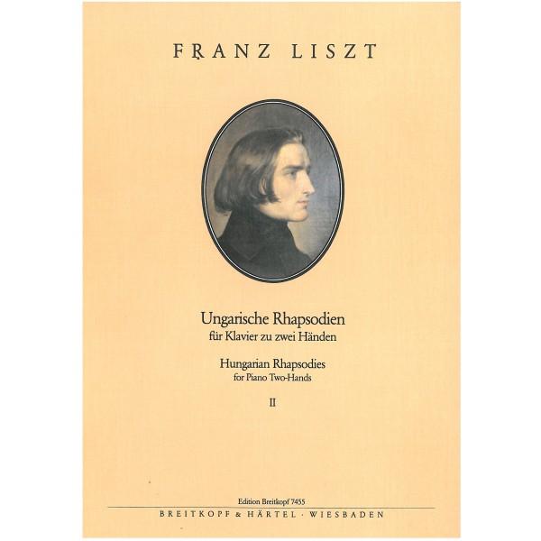 Liszt, Franz - Hungarian Rhapsodies 8-13