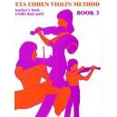 Eta Cohen Violin Method Book 3 Teachers Book - Cohen, Eta (Author)