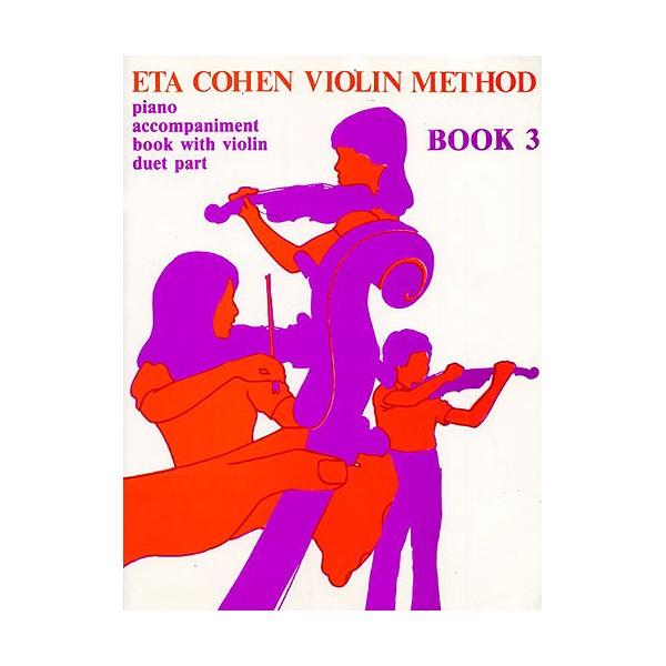 Eta Cohen Violin Method Book 3 Accompaniment Book - Cohen, Eta (Author)