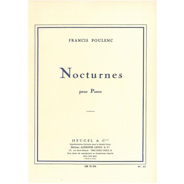 Poulenc, Francis - Nocturnes pour Piano