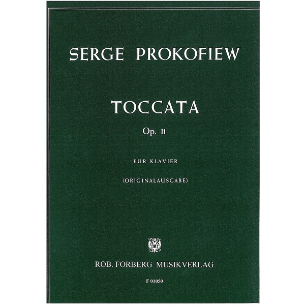 Prokofiev, Sergei - Toccata Op11