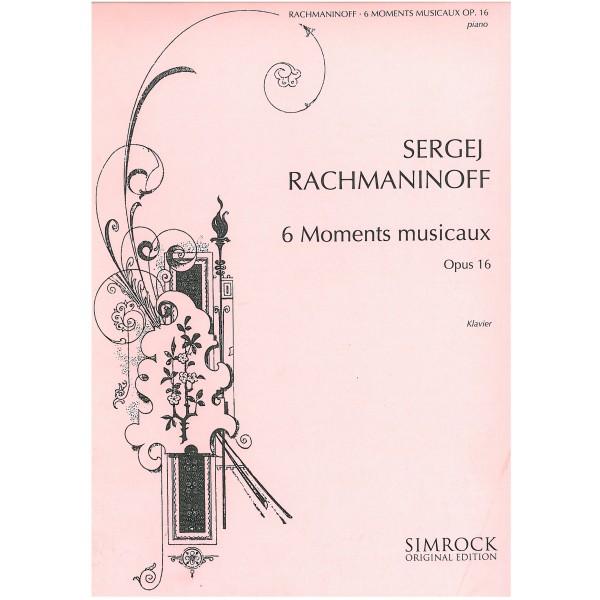 Rachmaninoff, Sergei - Six Moments Musicaux Op16