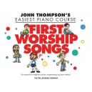 John Thompsons Easiest Piano Course: First Worship Songs