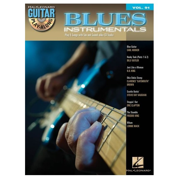 Guitar Play-Along Volume 91: Blues Instrumentals