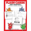 John Thompsons Easiest Piano Course: Flash Cards