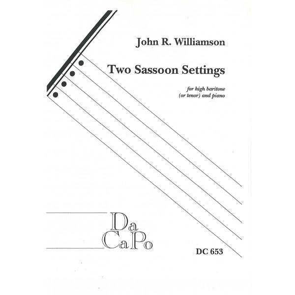 Williamson, John R - Two Sassoon Settings