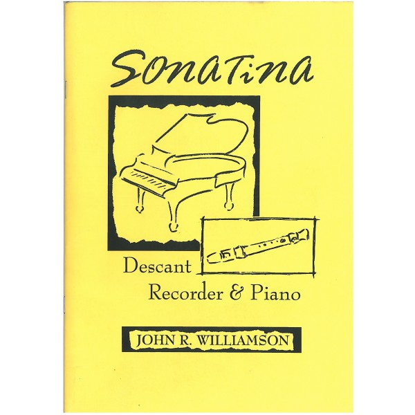 Williamson, John R - Sonatina for Descant Recorder