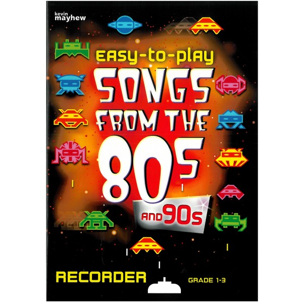 Easy-to-play - Songs from the 80s and 90s, Recorder