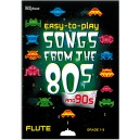 Easy-to-play - Songs from the 80s and 90s, Flute