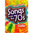 Easy-to-play - Songs from the 70s, Violin