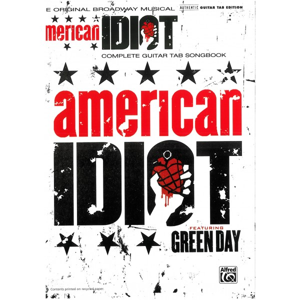 American Idiot - The Musical (Guitar TAB)