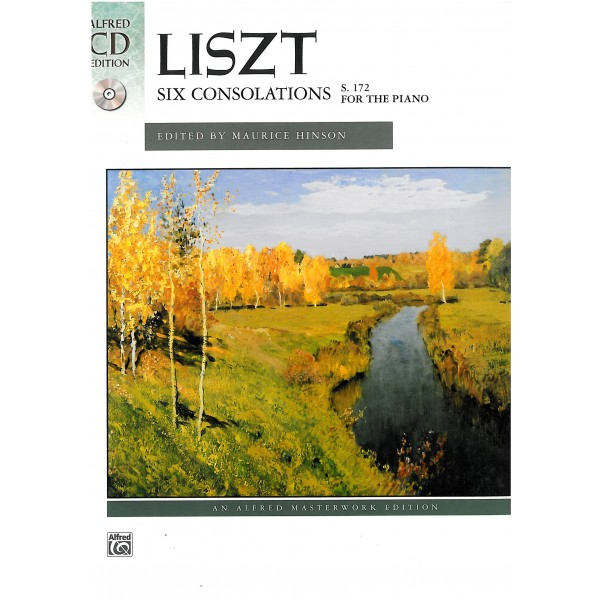 Liszt, Franz - Six Consolations (S172) for Piano Solo