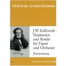 Kalliwoda, J W - Variations & Rondo Op57