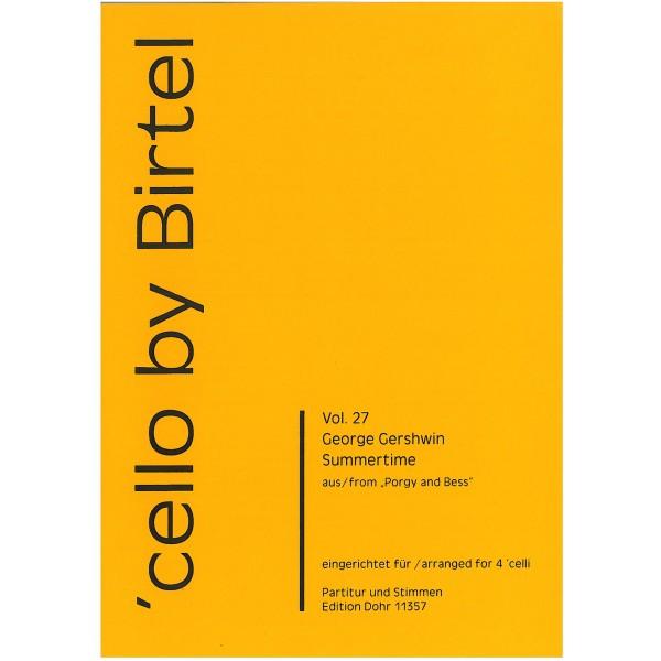 Gershwin, George - Summertime (Cello 4tet)