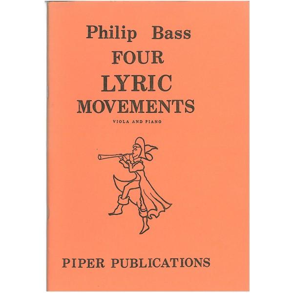 Bass, Philip - Four Lyric Movements
