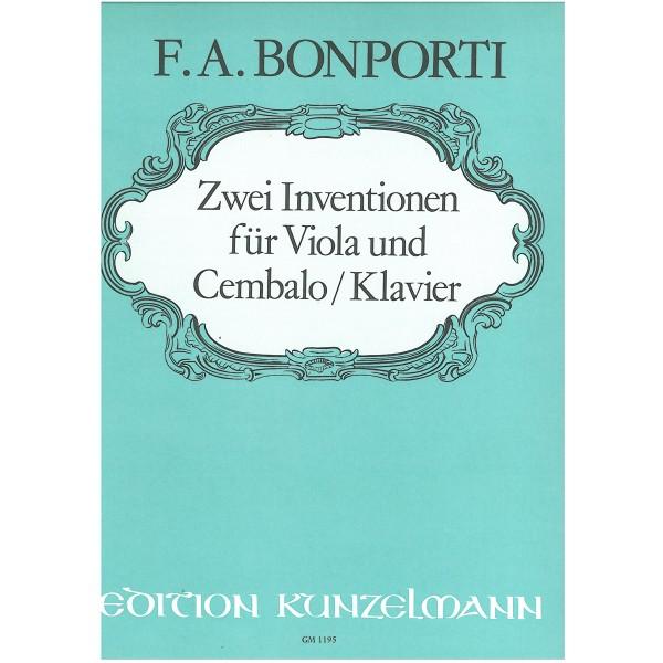 Bonporti, F. A. - 2 Inventions