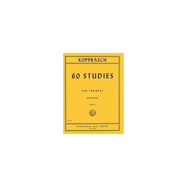 Kopprasch 60 Studies for Trumpet Book 2